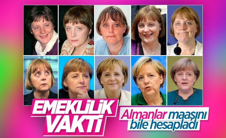 Angela Merkel'in alacağı emekli maaşı belli oldu