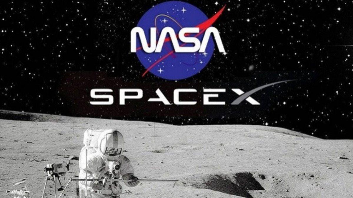 NASA, SpaceX ile yaptığı 2.9 milyarlık sözleşmeyi beklemeye aldı