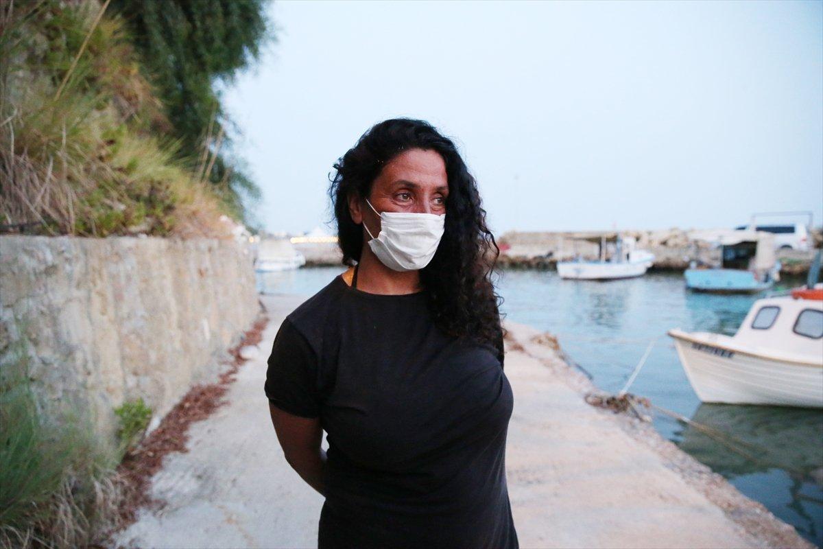 Antalya da orman yakan şahsı ihbar eden kadın, gerekeni yaptığını söyledi #2
