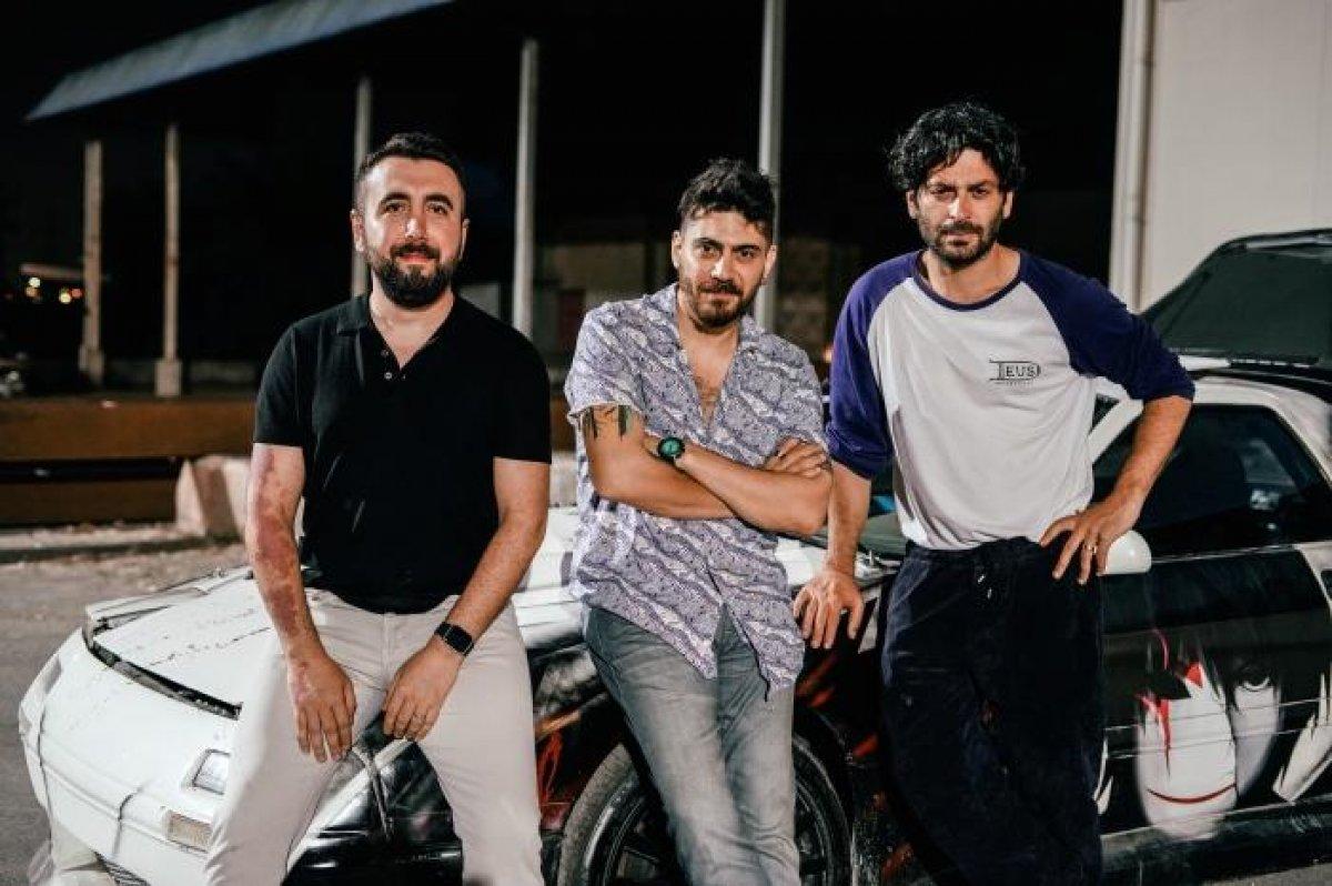 EDHO nun  İlyas Çakırbeyli si  Ozan Akbaba nın filmi yolda: İşte setten ilk kareler  #2