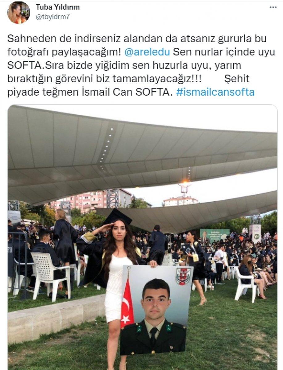 Şehit İsmail Can Softa ya mezun olduğu üniversiteden saygısızlık  #5