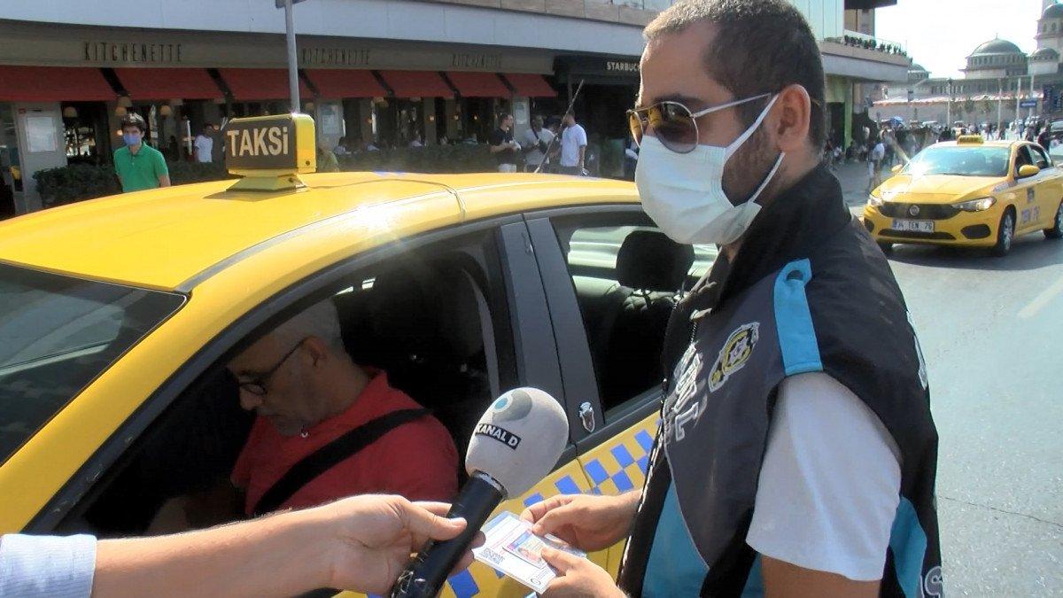 İstanbul da kısa mesafe almayan ve müşteri seçen taksicilere ceza kesildi #6