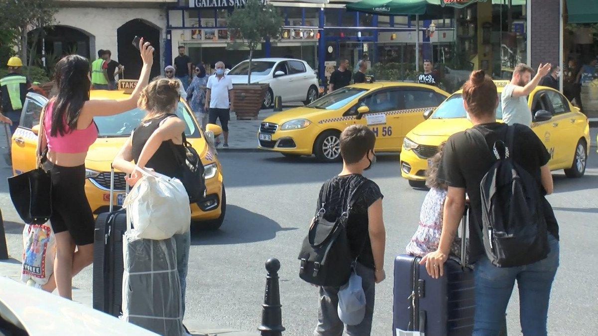 İstanbul da kısa mesafe almayan ve müşteri seçen taksicilere ceza kesildi #4