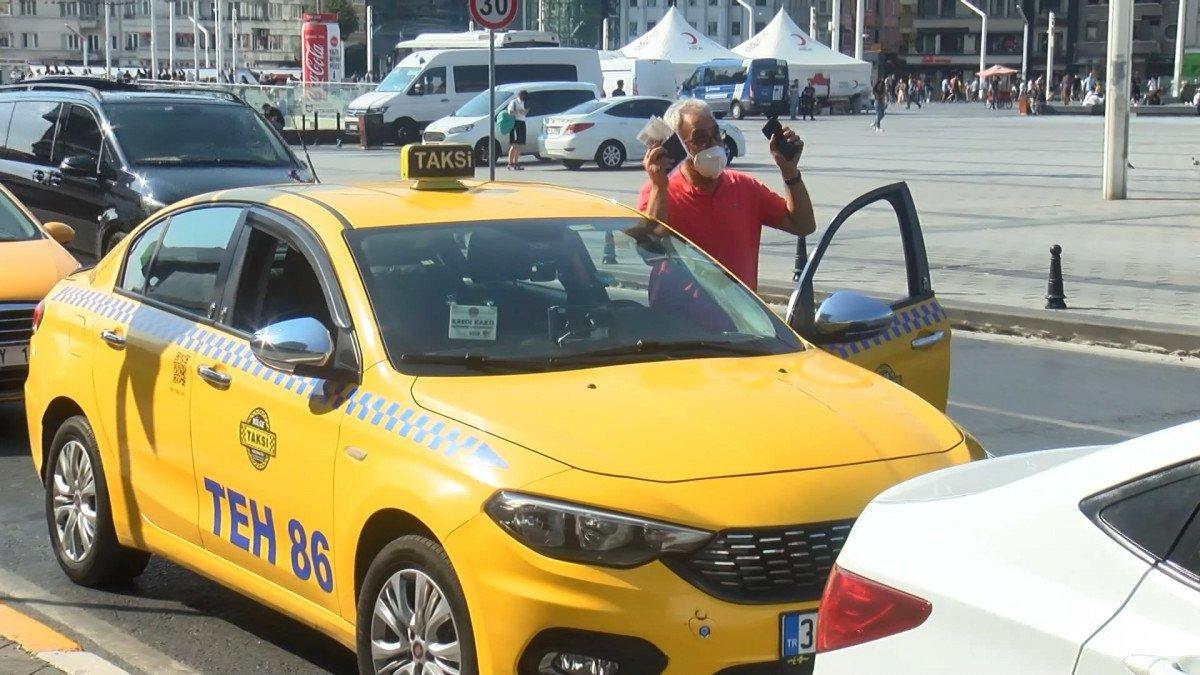 İstanbul da kısa mesafe almayan ve müşteri seçen taksicilere ceza kesildi #2