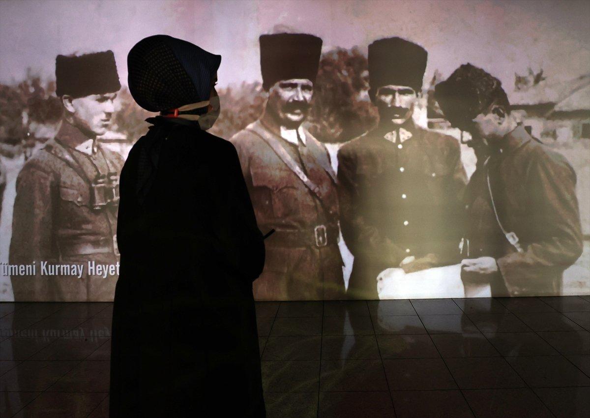 İstanbul da 30 Ağustos Zafer Bayramı na özel dijital gösterim #5