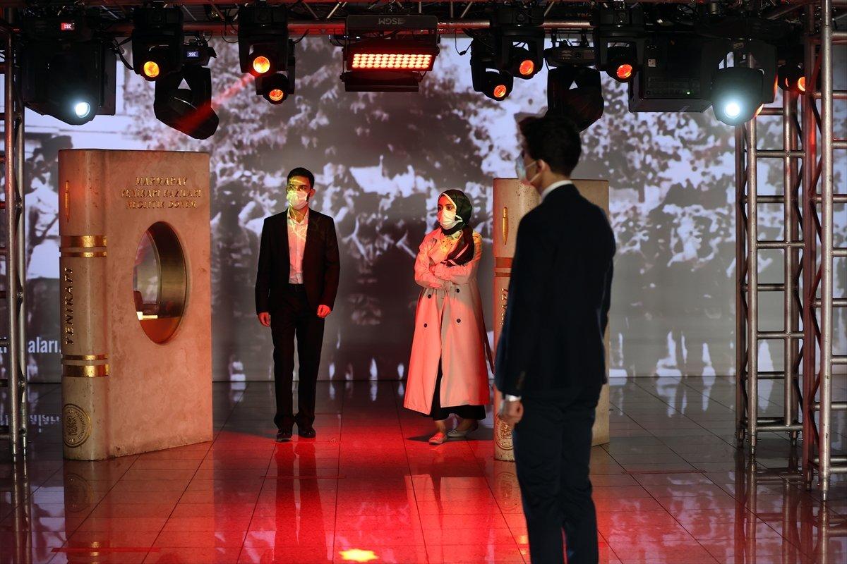 İstanbul da 30 Ağustos Zafer Bayramı na özel dijital gösterim #8