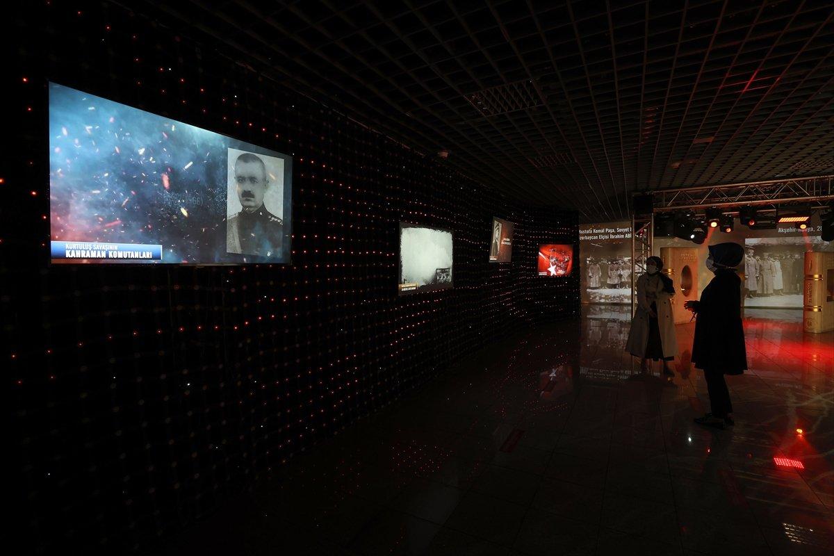 İstanbul da 30 Ağustos Zafer Bayramı na özel dijital gösterim #10