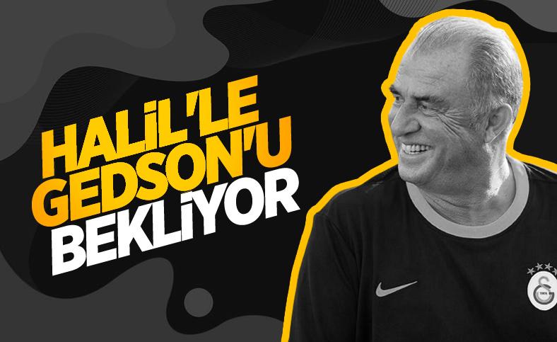 Galatasaray'da gündem: Halil Dervişoğlu ve Gedson Fernandes