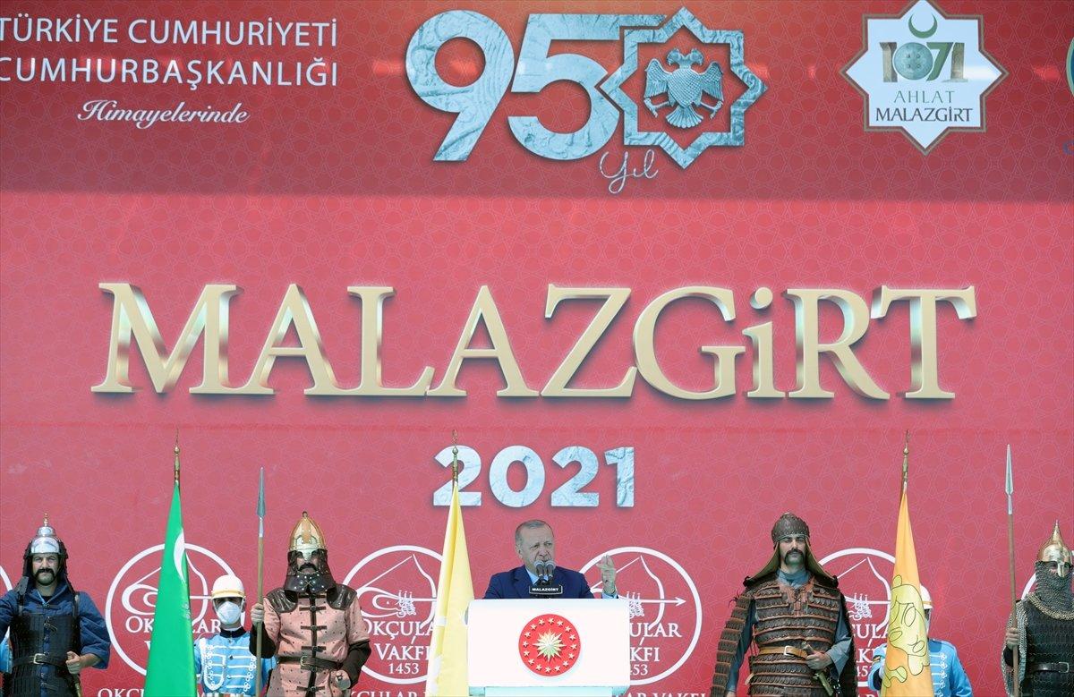 Cumhurbaşkanı Erdoğan ın, Malazgirt Fetih Programı ndaki konuşması #4