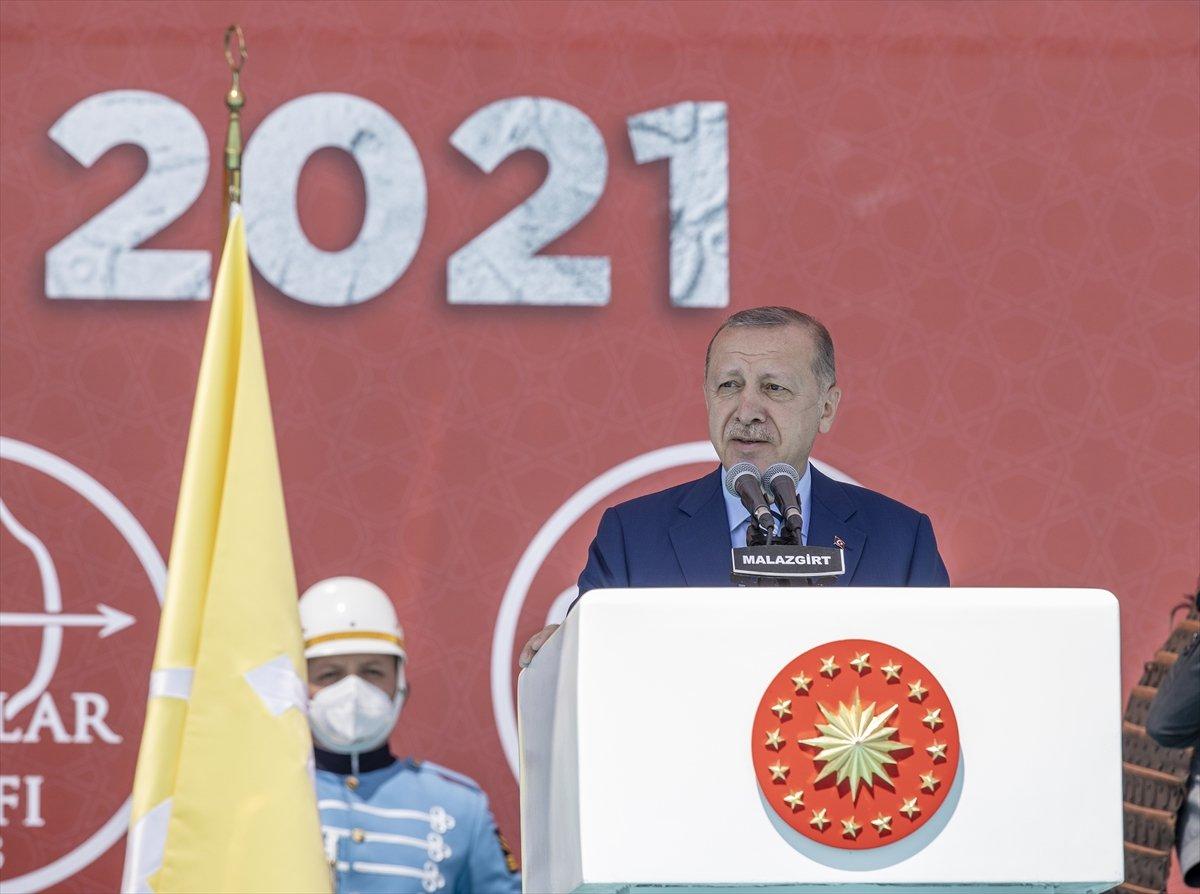 Cumhurbaşkanı Erdoğan ın, Malazgirt Fetih Programı ndaki konuşması #2