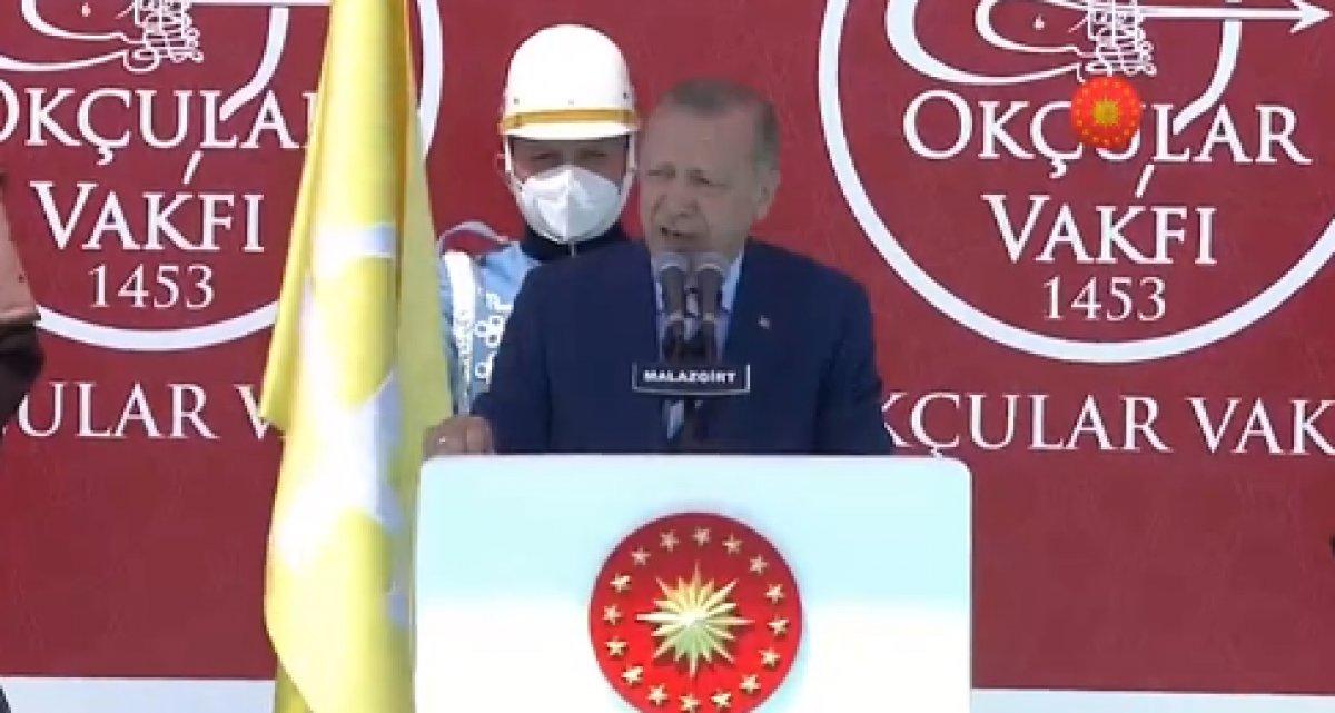 Cumhurbaşkanı Erdoğan ın, Malazgirt Fetih Programı ndaki konuşması #1