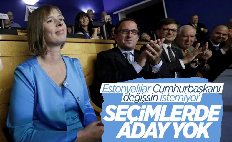 Estonya'da yarın yapılacak Cumhurbaşkanlığı seçiminde aday olan olmadı