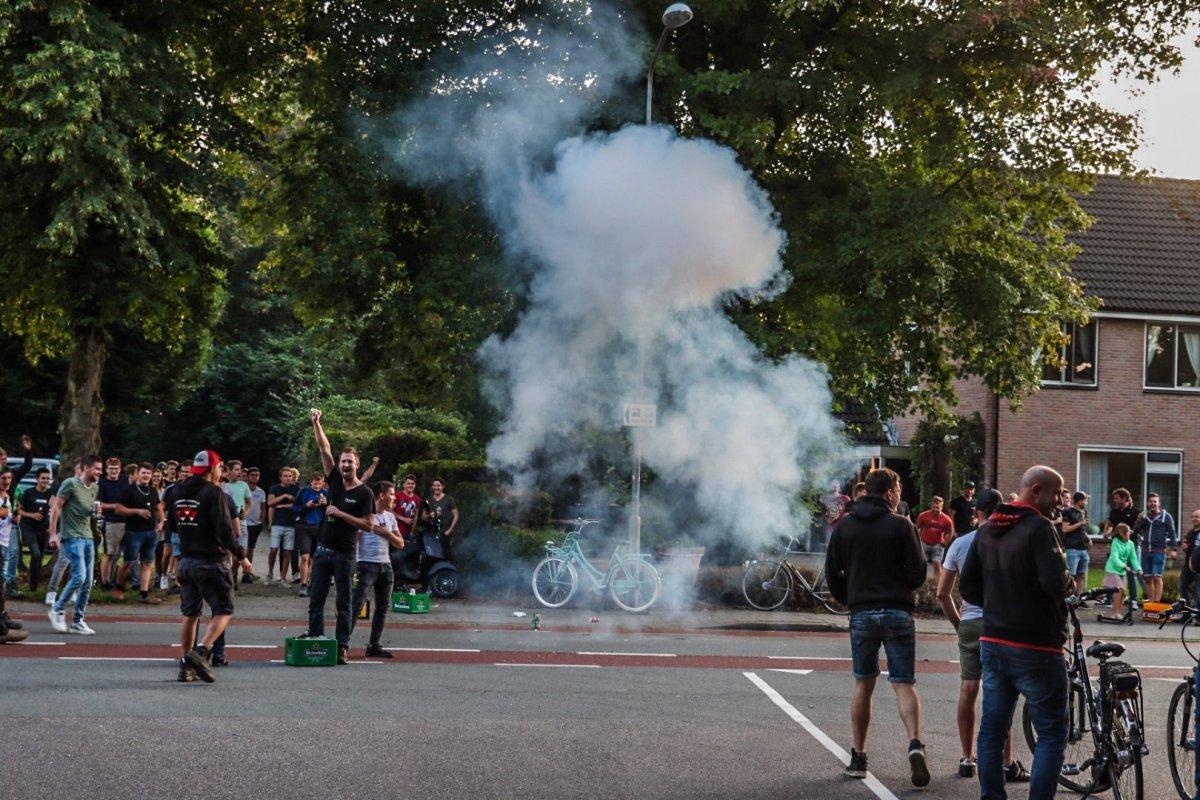 Hollanda da Afgan sığınmacılar protesto edildi #5