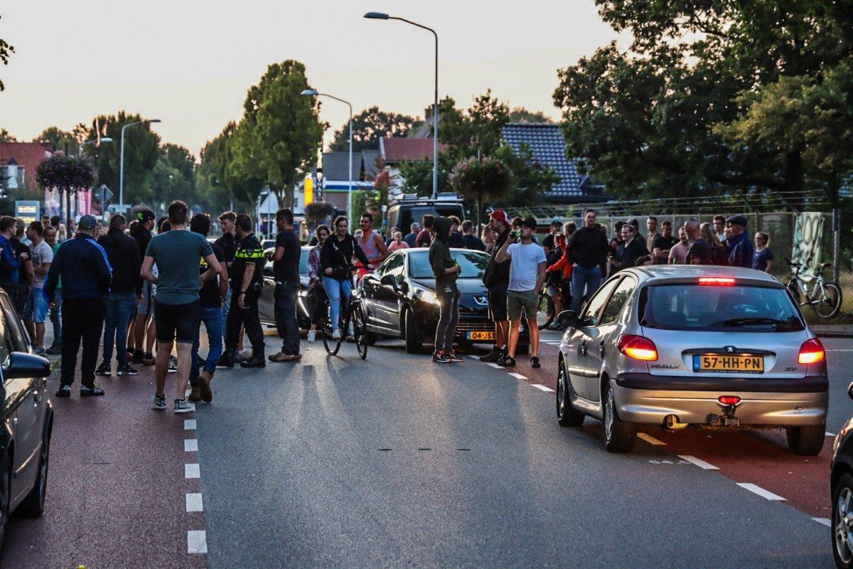 Hollanda da Afgan sığınmacılar protesto edildi #6