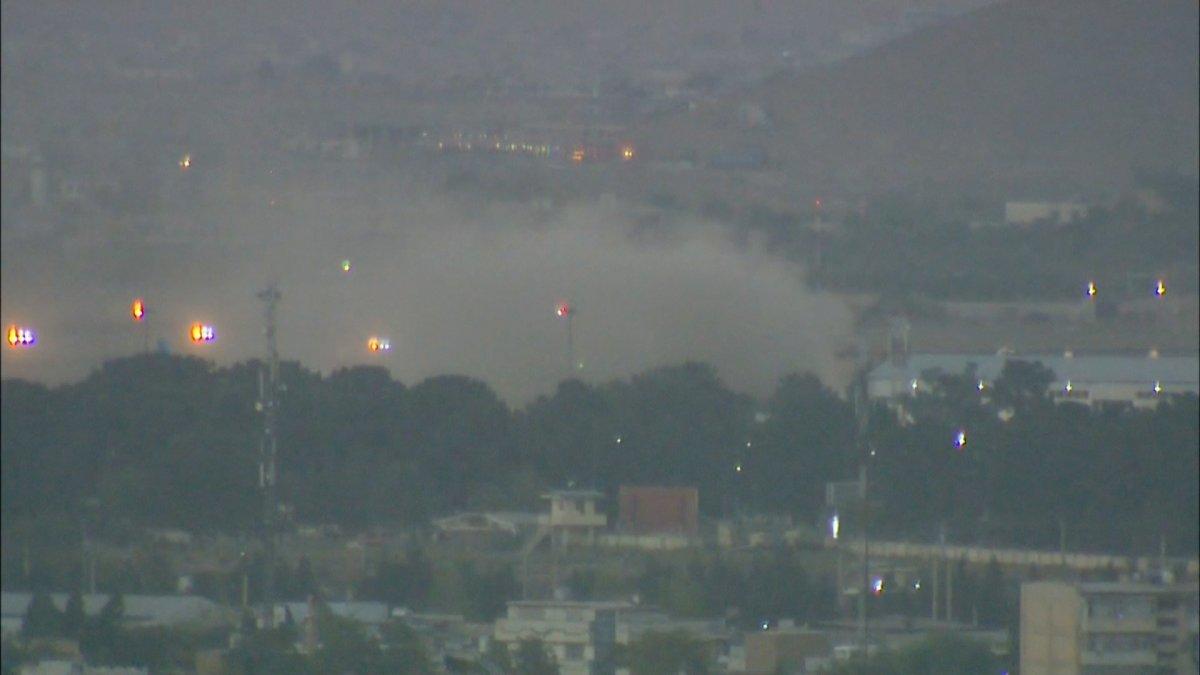 Kabil Havalimanı dışında patlama meydana geldi #4