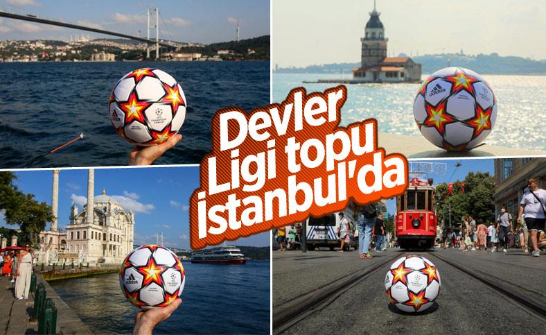 Şampiyonlar Ligi topu İstanbul'da