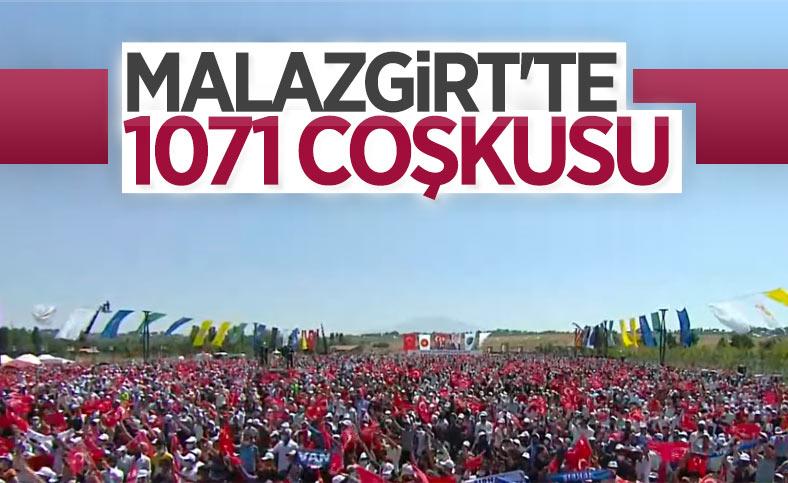 Malazgirt Zaferi'nin 950'nci yıl kutlamalarına yoğun katılım