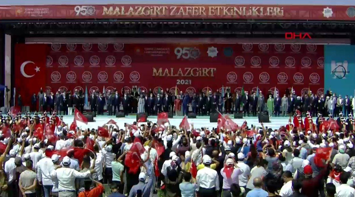 Malazgirt Zaferi'nin 950. yıl kutlamalarına yoğun katılım #5
