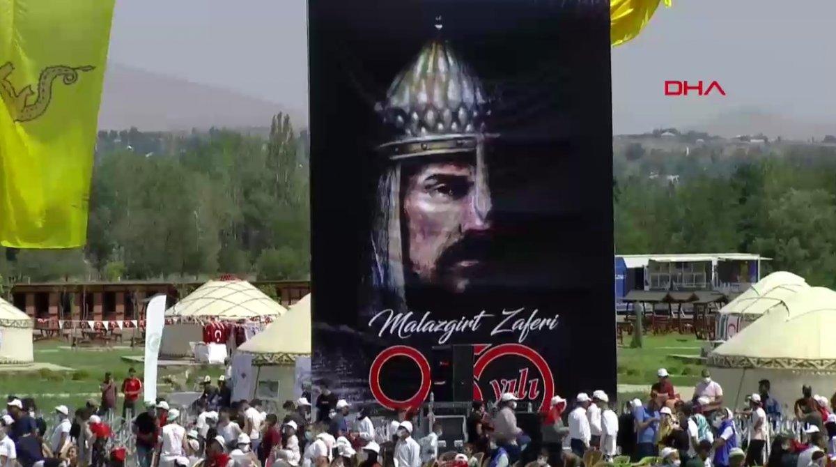 Malazgirt Zaferi'nin 950. yıl kutlamalarına yoğun katılım #7