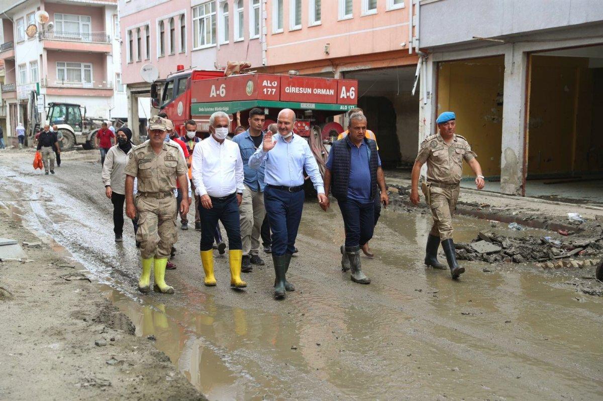 Süleyman Soylu Bozkurt'ta: 20 bin kamyon daha çamur taşınacak #3