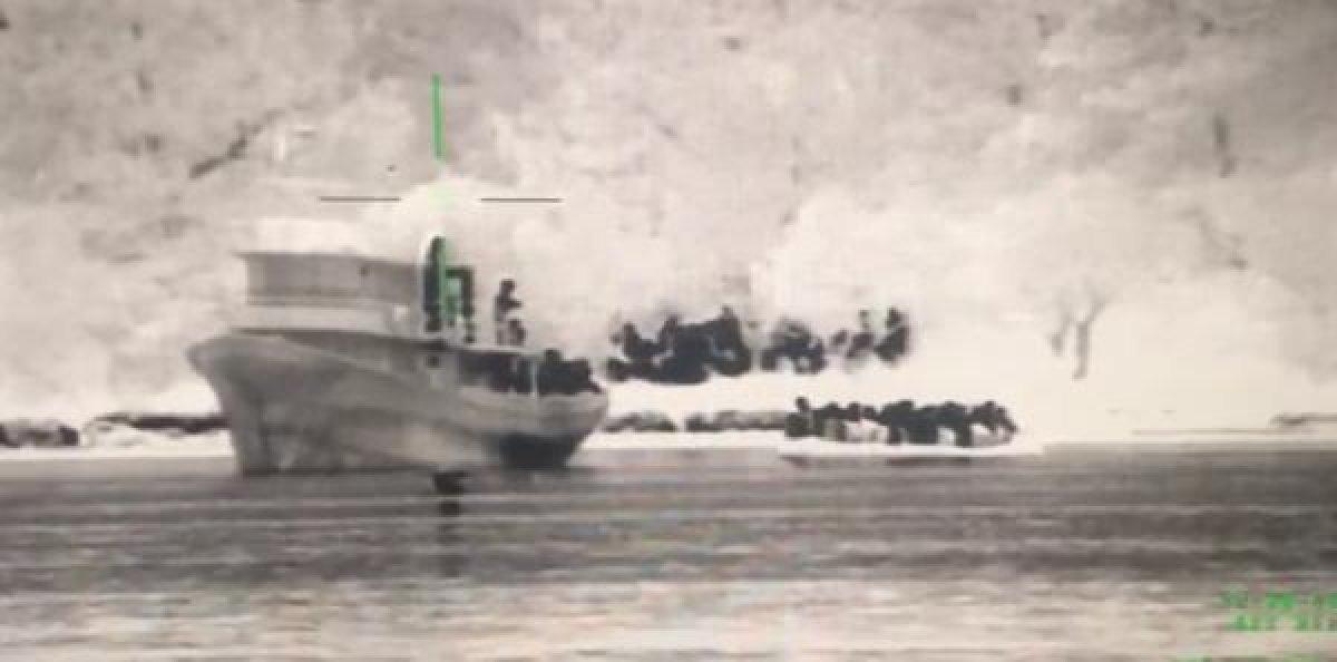 Çanakkale de 204 kaçak göçmen yakalandı #2