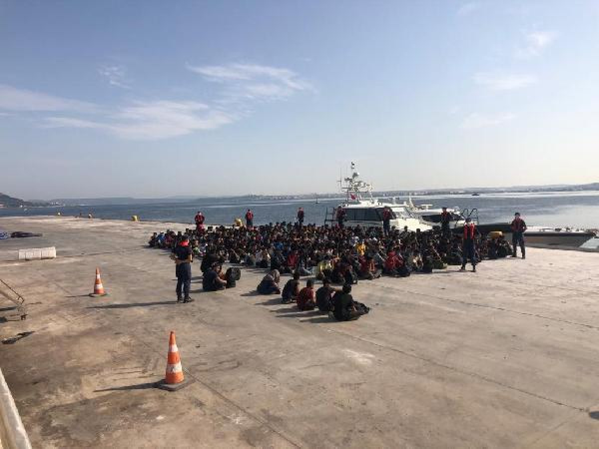 Çanakkale de 204 kaçak göçmen yakalandı #3