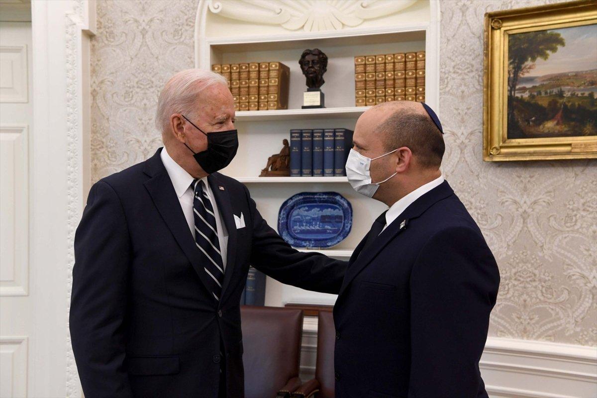 ABD Başkanı Joe Biden ve İsrail Başbakanı Naftali Bennett bir araya geldi #1