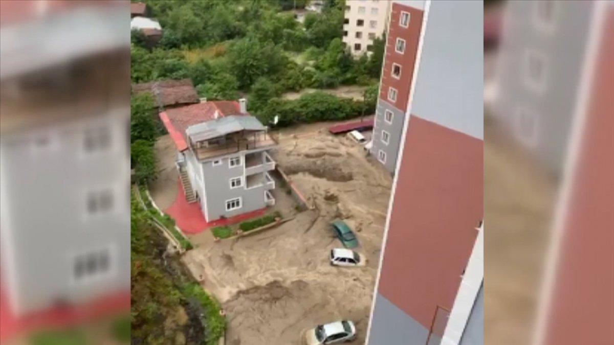 Bozkurt ilçesindeki selde yeni görüntüler yayınlandı #1