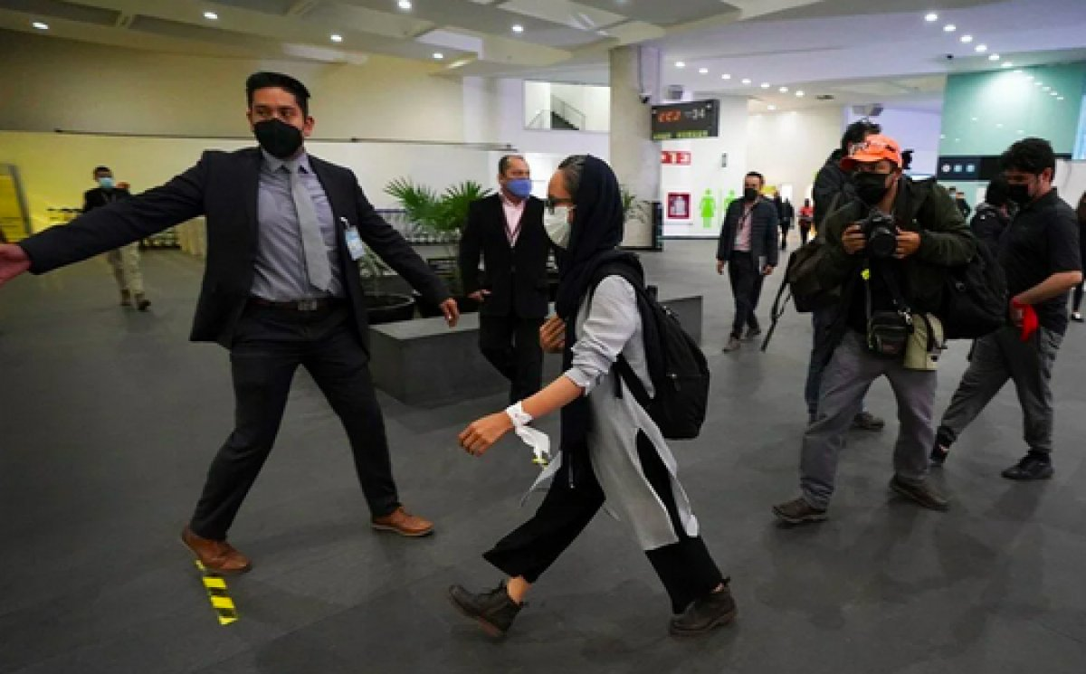 Taliban dan kaçan 124 gazeteci Meksika ya sığındı #3