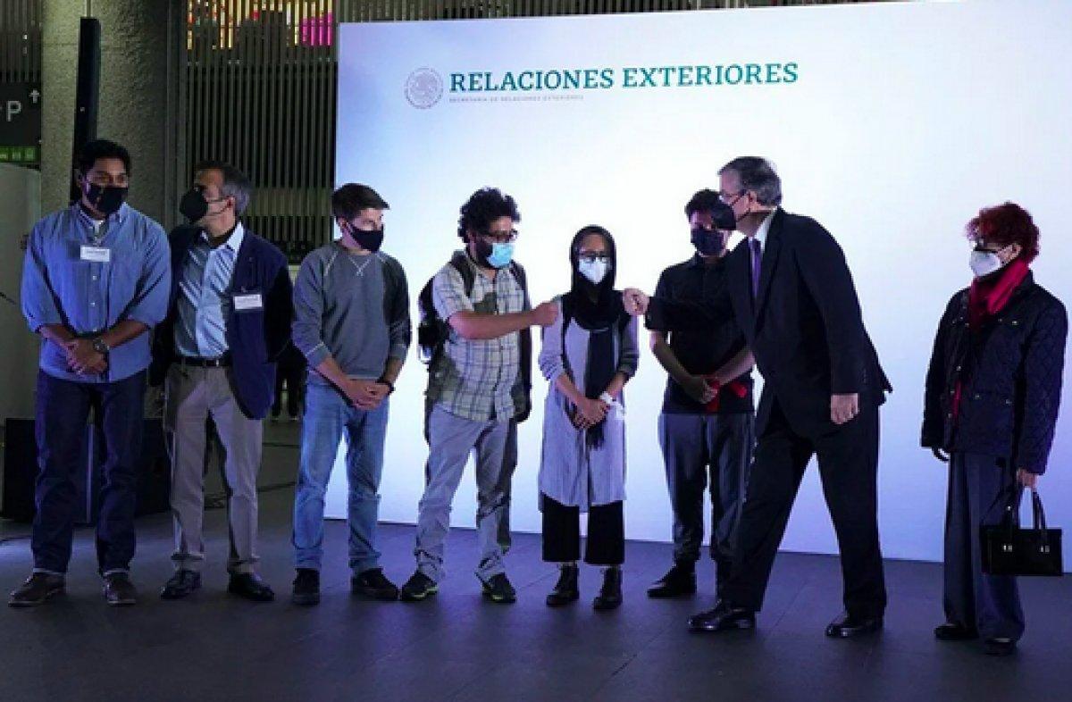 Taliban dan kaçan 124 gazeteci Meksika ya sığındı #2