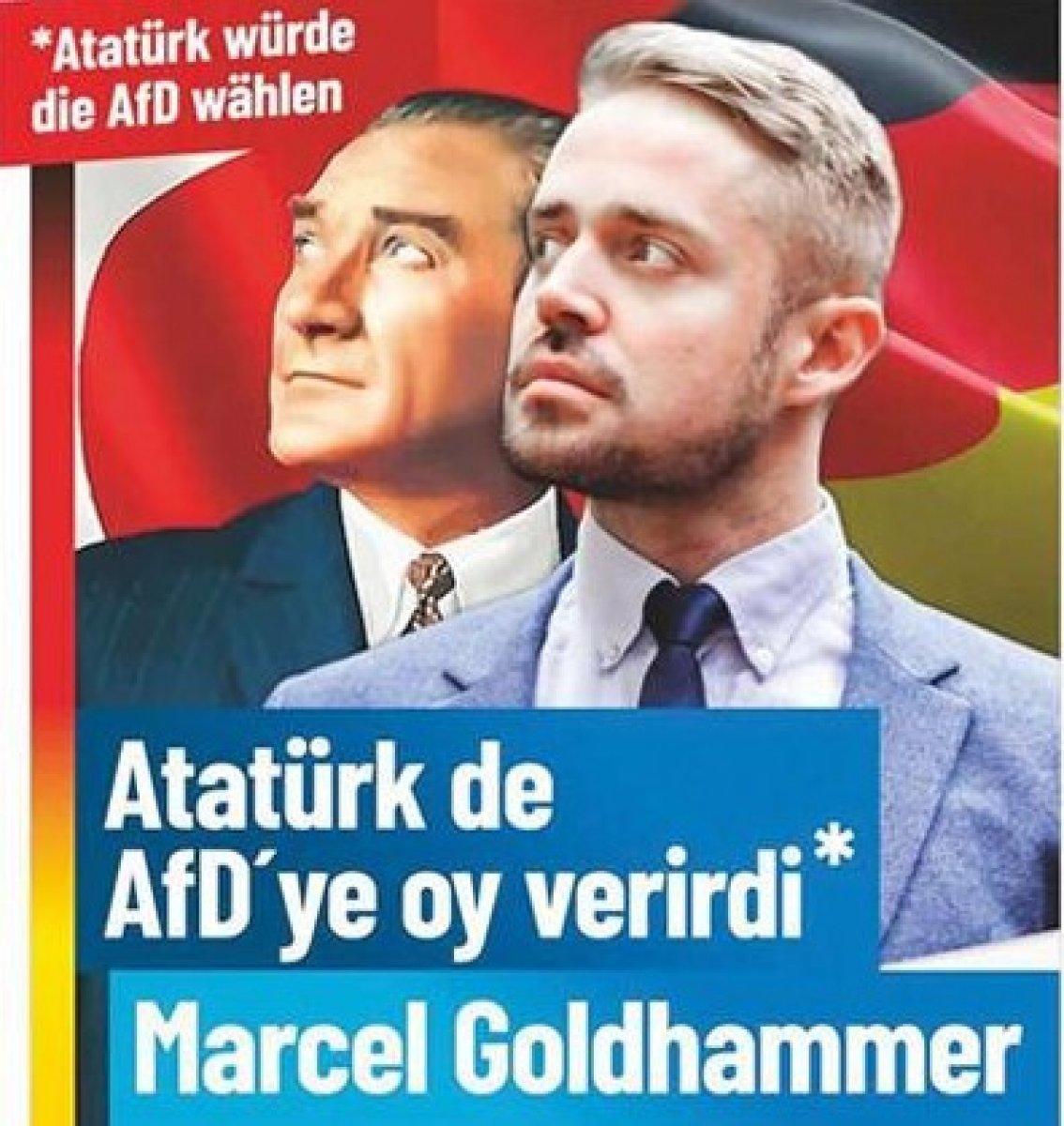 Almanya'da Atatürk'ün yer aldığı afişlere tepki #1