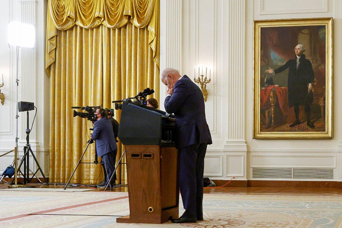 Joe Biden ın Afganistan üzüntüsü #3