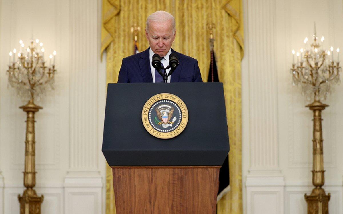 Joe Biden ın Afganistan üzüntüsü #1