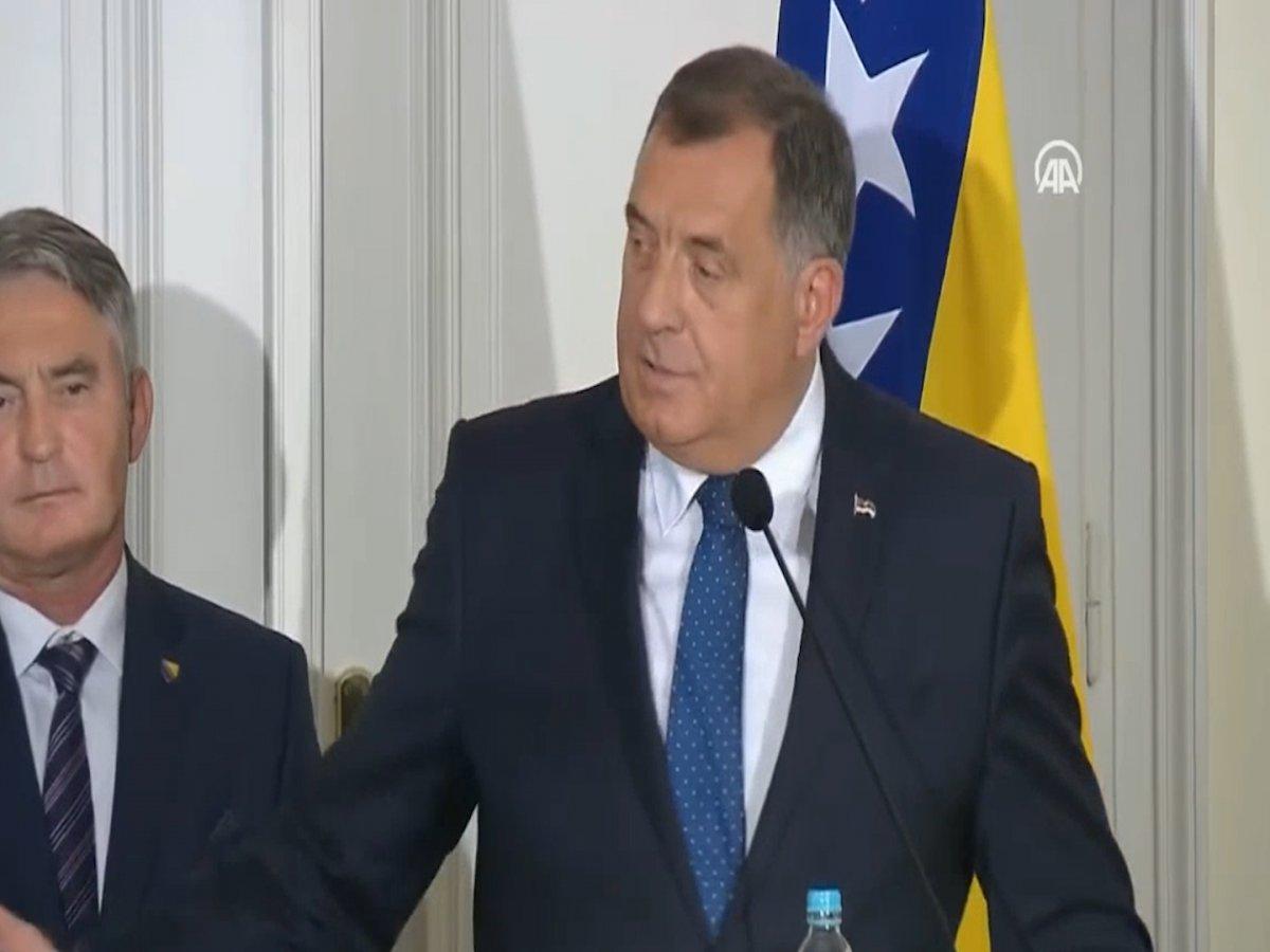 Bosna Hersek Devlet Başkanlığı Konseyi Başkanı Dodik in Cumhurbaşkanı Erdoğan a güveni #2