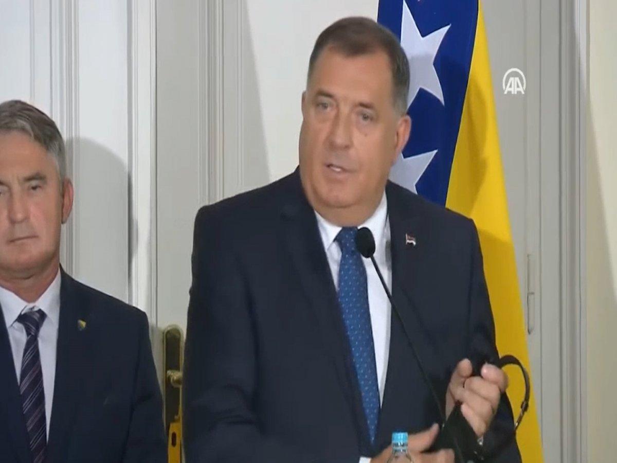 Bosna Hersek Devlet Başkanlığı Konseyi Başkanı Dodik in Cumhurbaşkanı Erdoğan a güveni #1