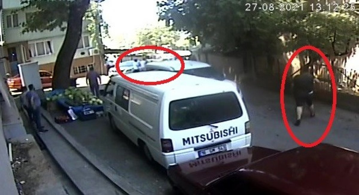Bursa da yol verme kavgası: 2 yaralı  #2