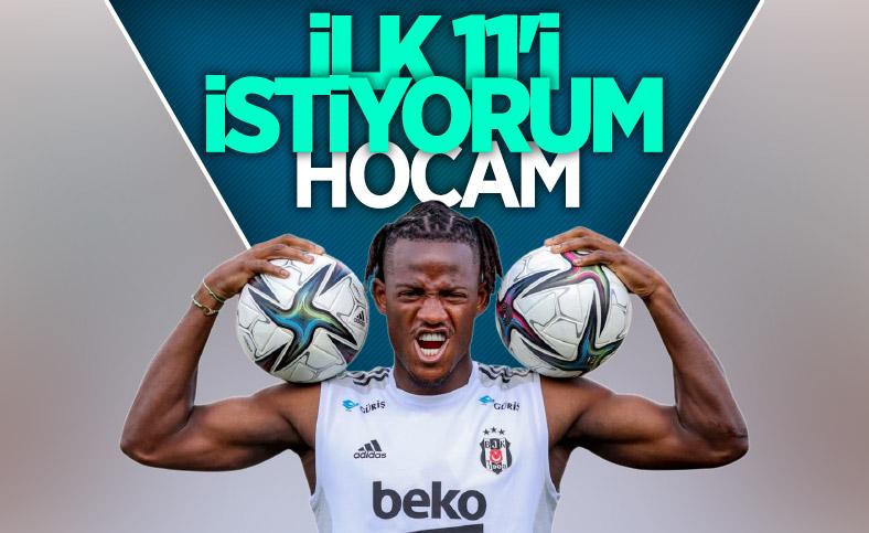 Beşiktaş'ta Batshuayi formayı istiyor