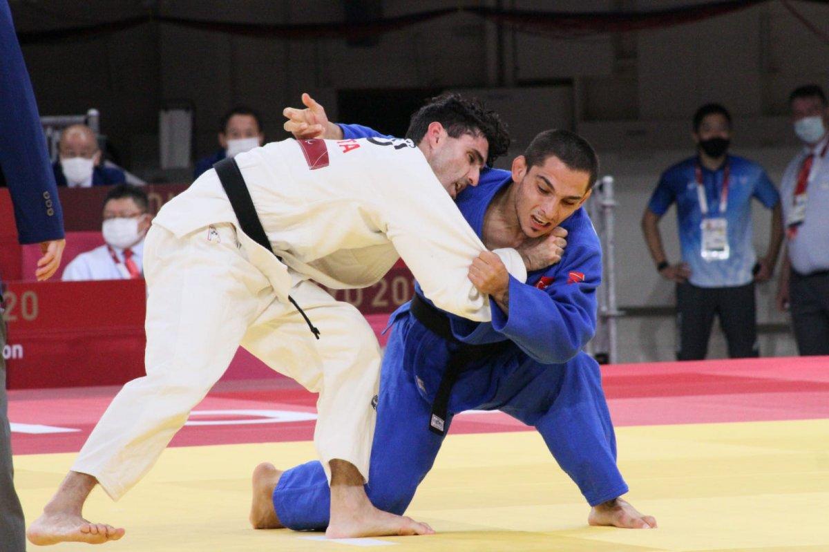 Milli judocu Recep Çiftçi bronz madalya kazandı #1