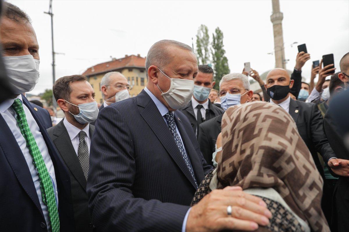 Cumhurbaşkanı Erdoğan ın ziyareti Bosnalıları mutlu etti #2
