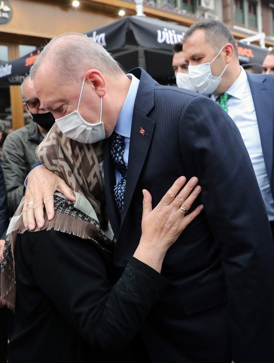Cumhurbaşkanı Erdoğan ın ziyareti Bosnalıları mutlu etti #1
