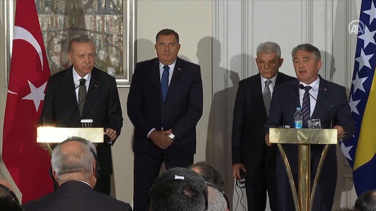 Cumhurbaşkanı Erdoğan, Bosna Hersek te konuştu  #1