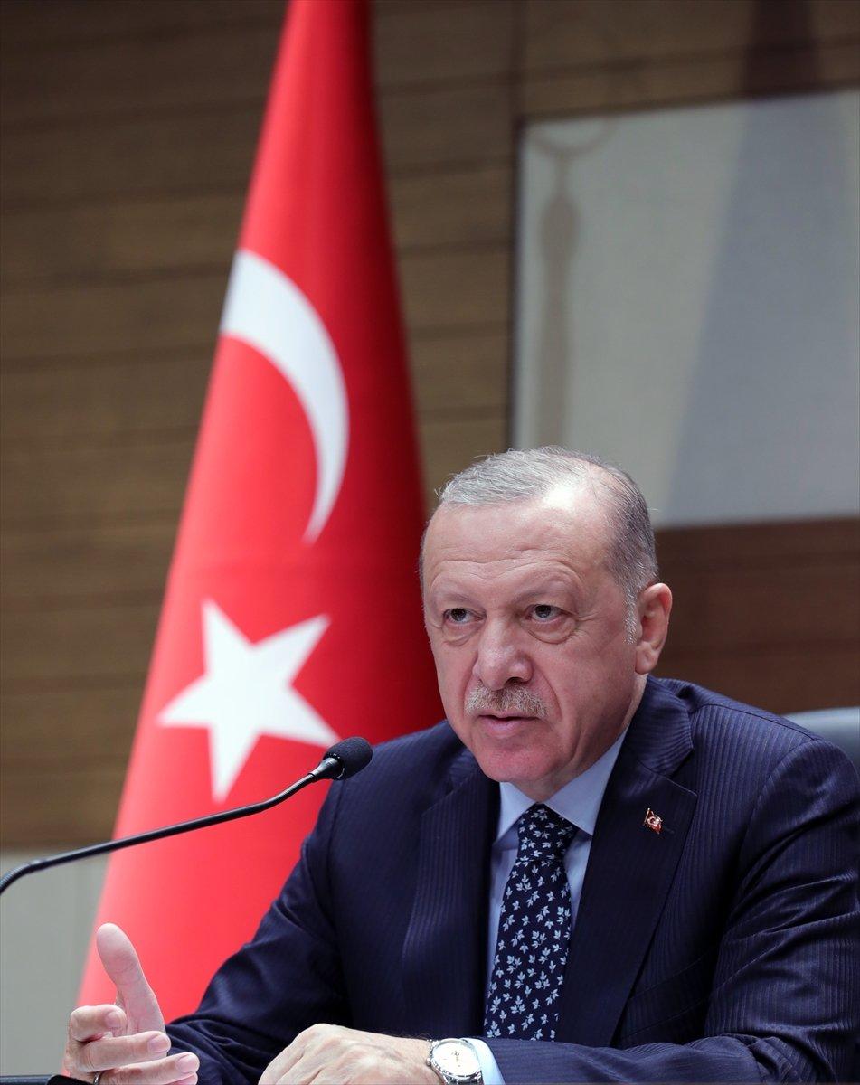 Cumhurbaşkanı Erdoğan dan muhalefete sert sözler #1