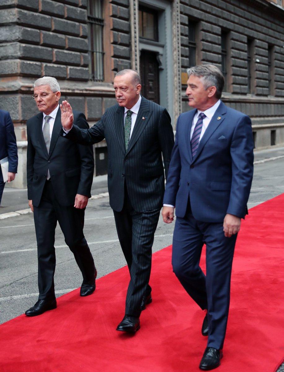 Cumhurbaşkanı Erdoğan Bosna Hersek te #3
