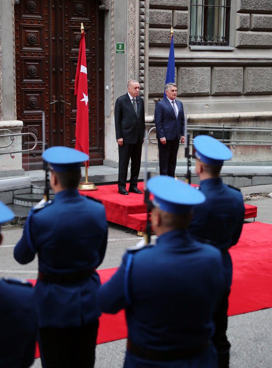 Cumhurbaşkanı Erdoğan Bosna Hersek te #4
