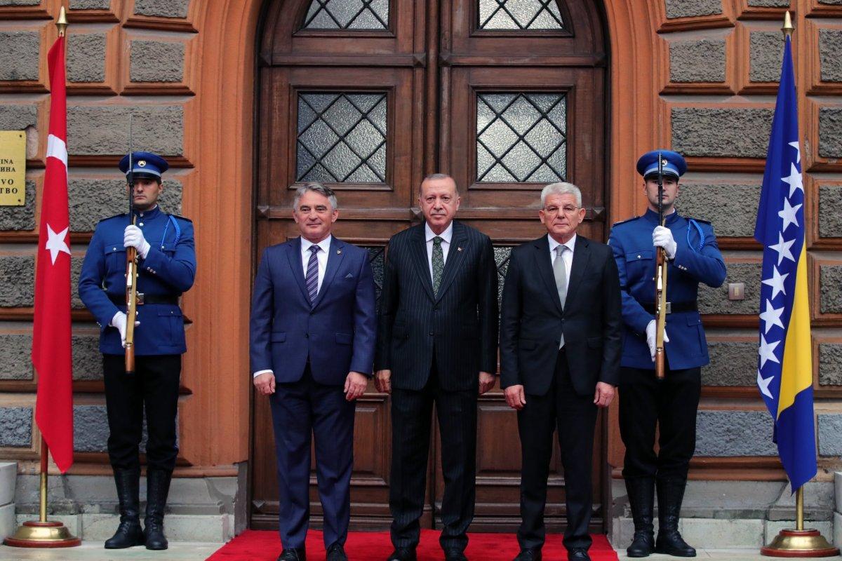 Cumhurbaşkanı Erdoğan Bosna Hersek te #5