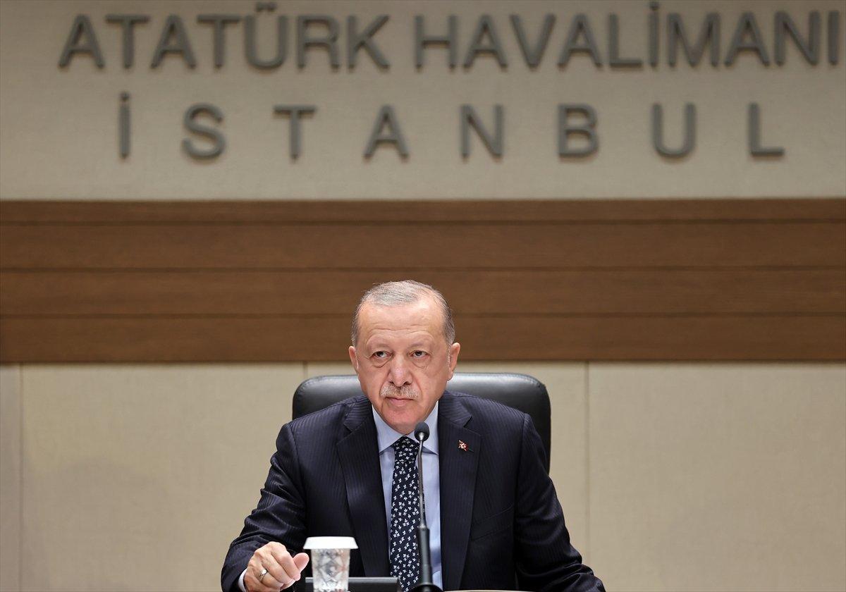 Cumhurbaşkanı Erdoğan dan muhalefete sert sözler #2