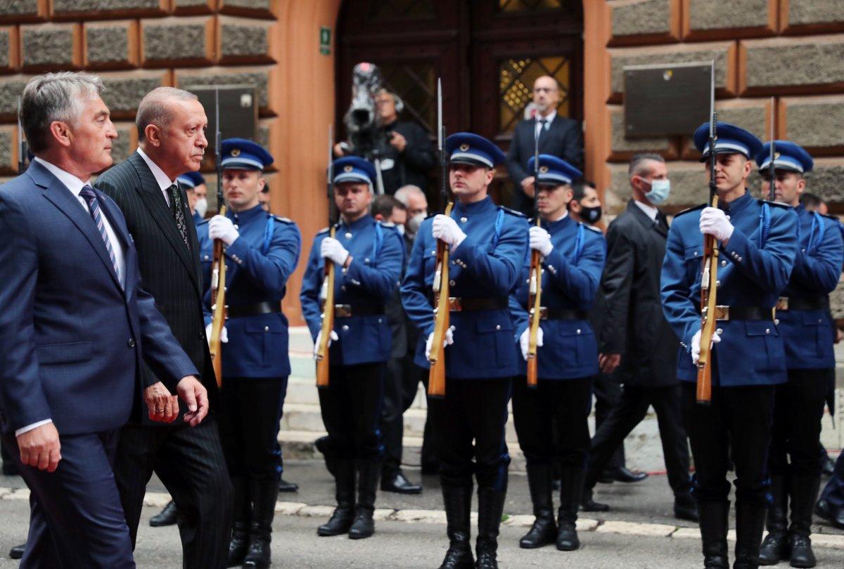 Cumhurbaşkanı Erdoğan Bosna Hersek te #1