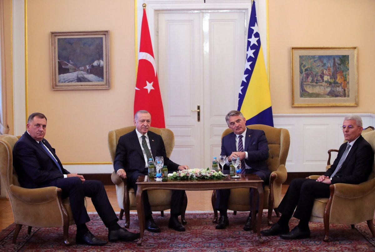 Cumhurbaşkanı Erdoğan Bosna Hersek te #2