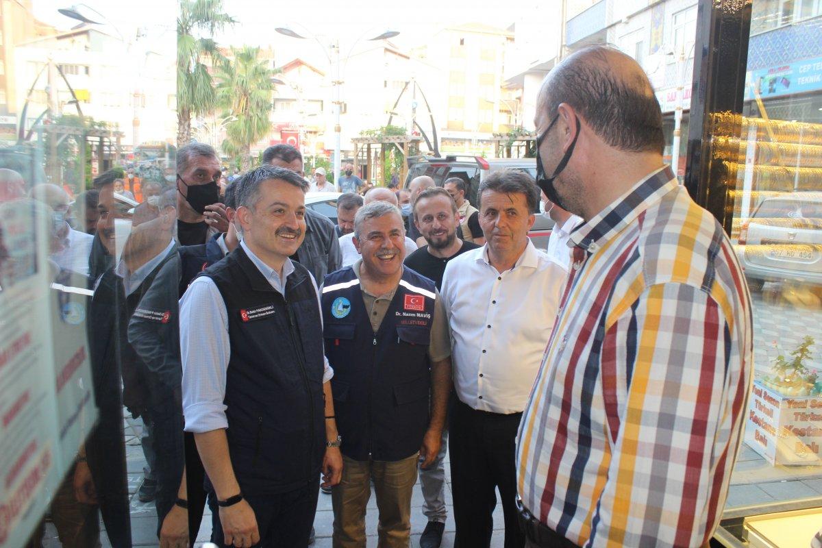 Tarım ve Orman Bakanı Bekir Pakdemirli Türkeli de #1