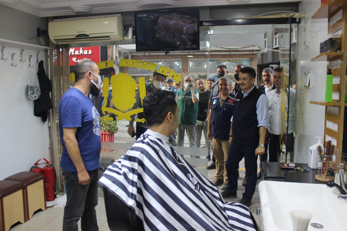 Tarım ve Orman Bakanı Bekir Pakdemirli Türkeli de #2